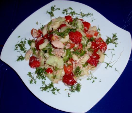 Fruchtiger Thunfisch-Nudelsalat - Rezept - Bild Nr. 14