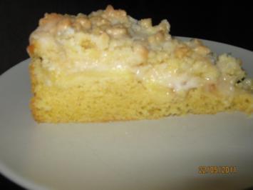 Rezept: Streuselkuchen mit Apfel