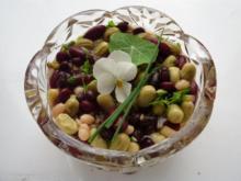 Bunter Bohnensalat - Rezept