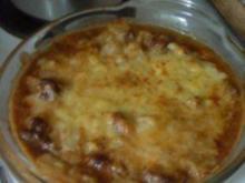 Würzfleisch mit Pilzen - Rezept