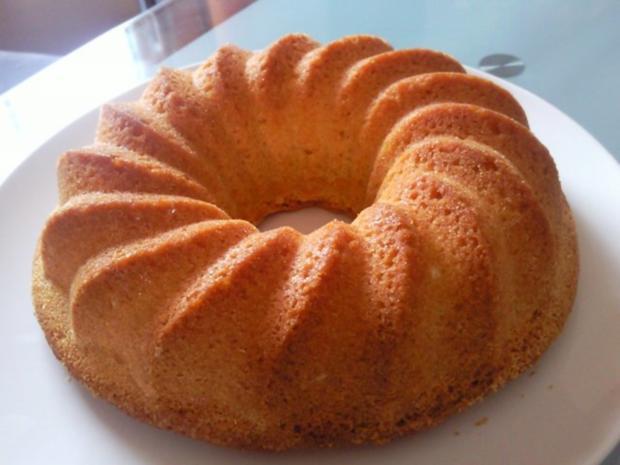 Oma's saftiger Sandkuchen - Rezept