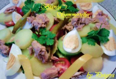 Bianca`s Sommerteller - Rezept