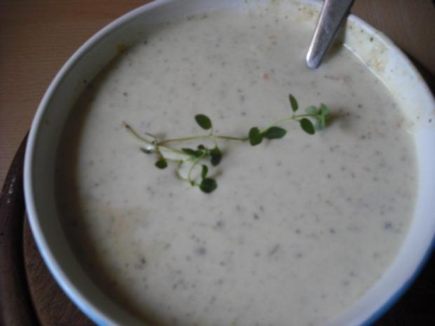Thymian-Ingwer-Cremsüppchen - Rezept