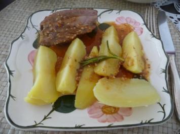 Geflügel : Putenbraten und Kamm - Rezept