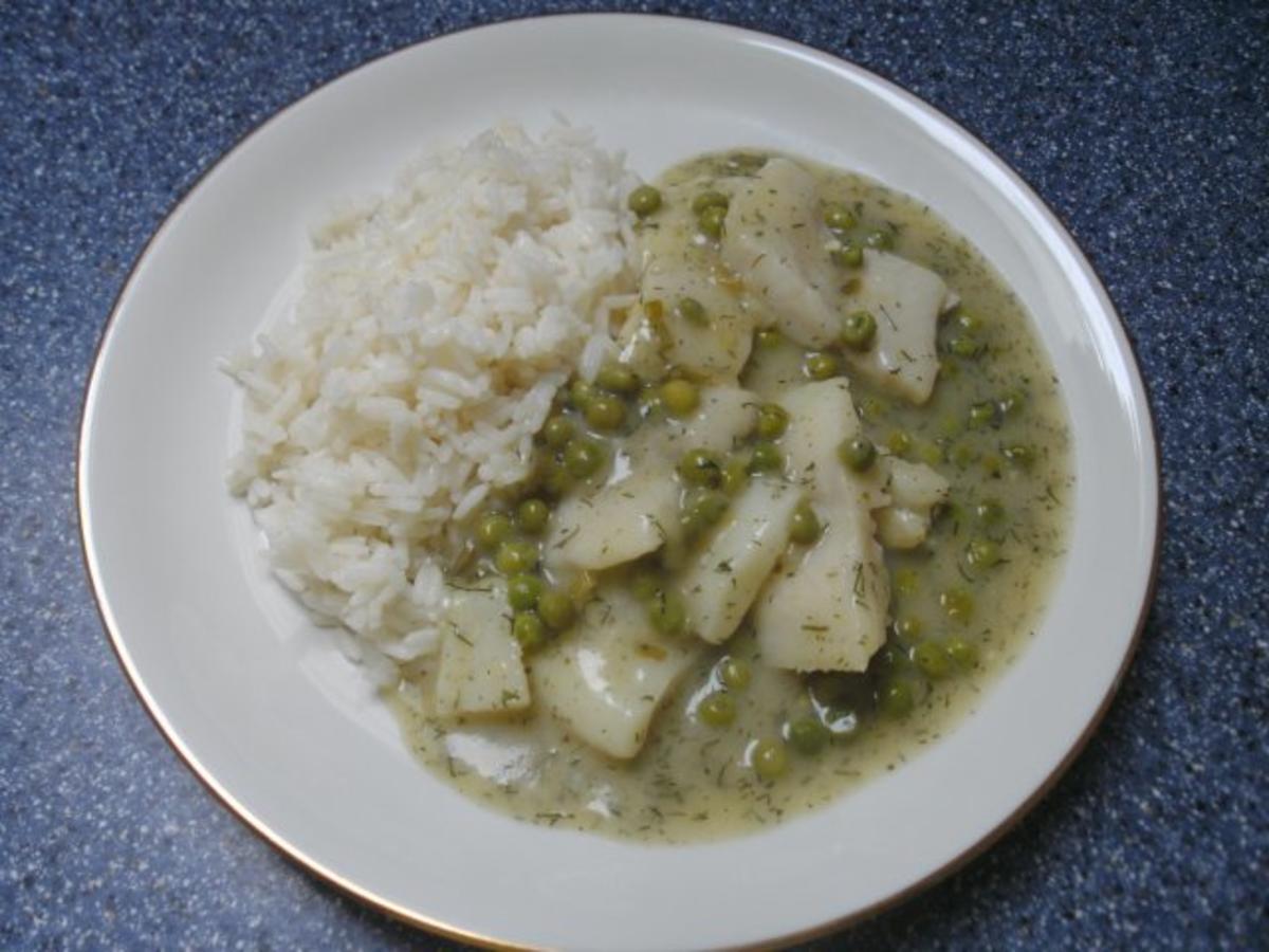 Fischfrikassee mit Fisch - je nach Geschmack und Butter Rezept By Backfee1961