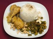 Chicken-Curry mit Okra Bahji (Collien Fernandes) - Rezept - Bild Nr. 9