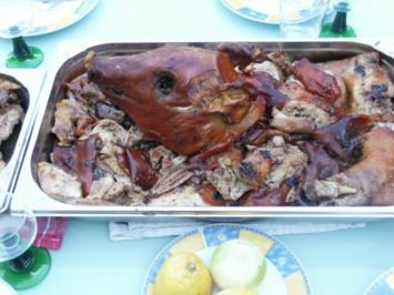 "Rezept: Portugiesisches Spanferkel ""Leitao"" nach Art ""PORTUVIDA"" mit Piri-Piri"
