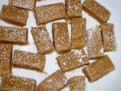 Tahina-Toffees - Rezept