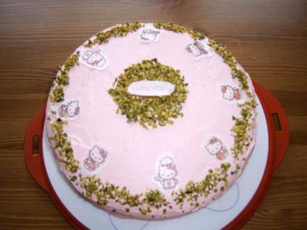 Hello Kitty - Torte - Rezept