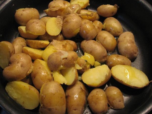 Rosmarin-Kartoffeln gebraten - Rezept - Bild Nr. 4