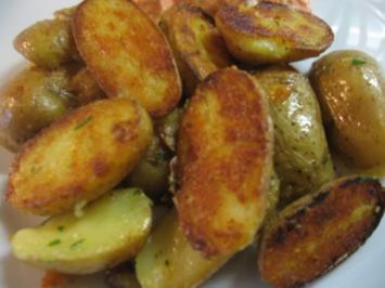 Rezept: Rosmarin-Kartoffeln gebraten