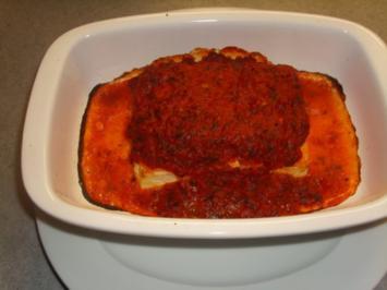 Schafskäse gebacken - Rezept