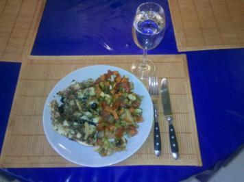 Vegetarisch: Scharfes Backofengemüse mediteran - Rezept