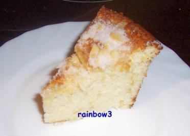 Backen: Mini-Mandel-Quarktorte (ohne Boden) - Rezept