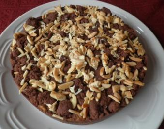 "Kleiner Birnen - Schoko - Kuchen + ""Nebenprodukt"" ;-)) - Rezept"