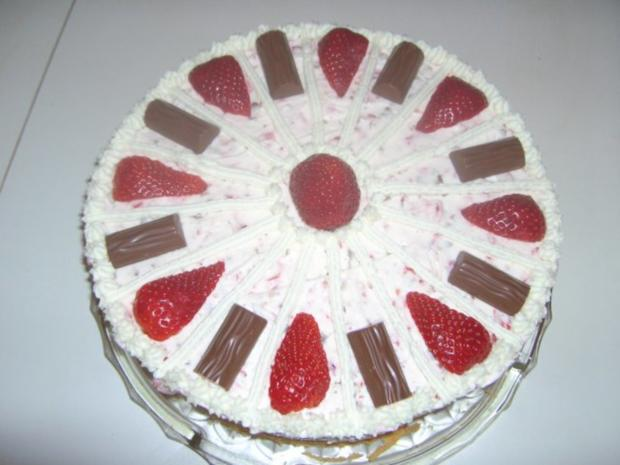 Erdbeer-Joghurette Torte - Rezept - Bild Nr. 3