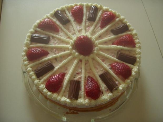 Erdbeer-Joghurette Torte - Rezept - Bild Nr. 2