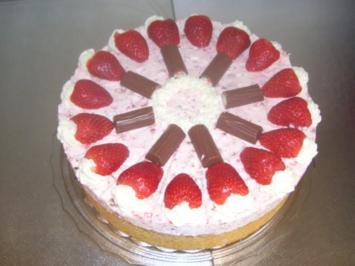 Rezept: Erdbeer-Joghurette Torte