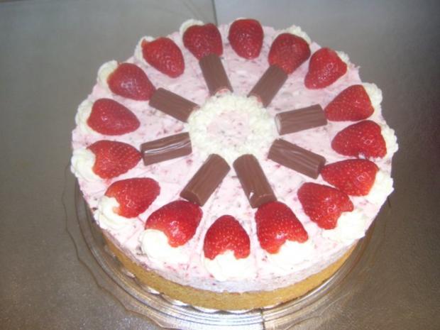 Erdbeer-Joghurette Torte - Rezept