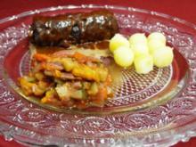Saltimbocca alla Lasslo mit Petit Belena an Ratatouille - Rezept
