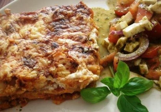 rezept vegetarische lasagne mit linsen beliebte gerichte und rezepte foto blog. Black Bedroom Furniture Sets. Home Design Ideas