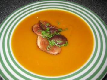 Kürbis-Kokos-Suppe - Rezept