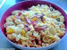Nudelsalat 'mediterran' - Rezept