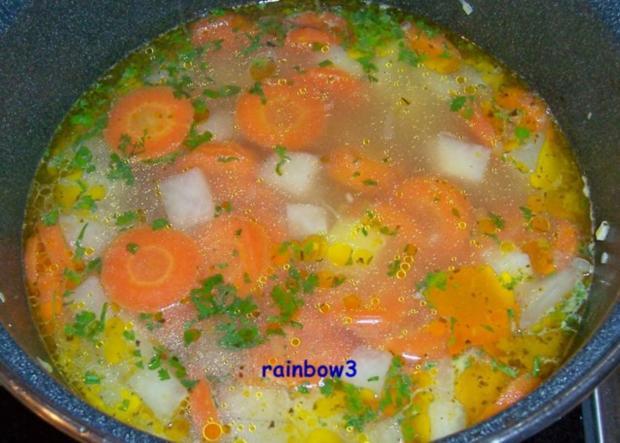 Kochen: Gemüsesuppe - Rezept - Bild Nr. 7