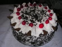 Schwarzwälder- Kirsch- Torte - Rezept