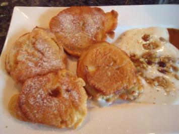 Apfelküchle, Süßspeise oder Dessert - Rezept
