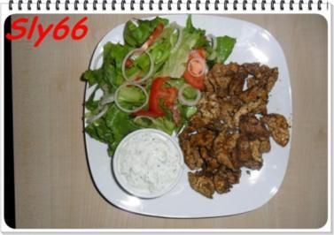 Snacks:Gyros-Kebab - Rezept