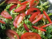 Salat Satt - Rezept