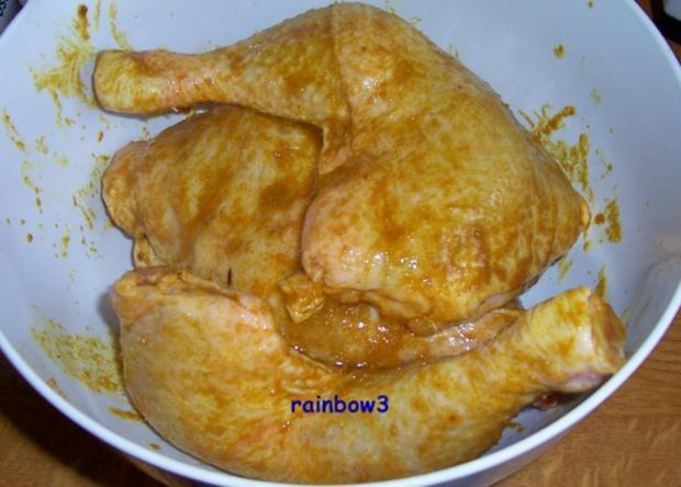 Kochen: Zwiebel-Hähnchenschenkel - Rezept - Bild Nr. 3