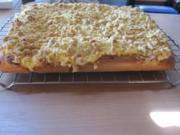 einfacher Pudding-Streusel-Kuchen - Rezept