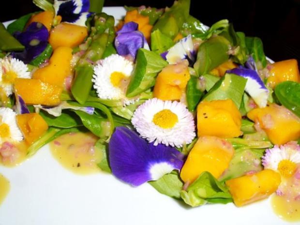 Salat: Frühlings-Blüten-Salat - Rezept - Bild Nr. 2