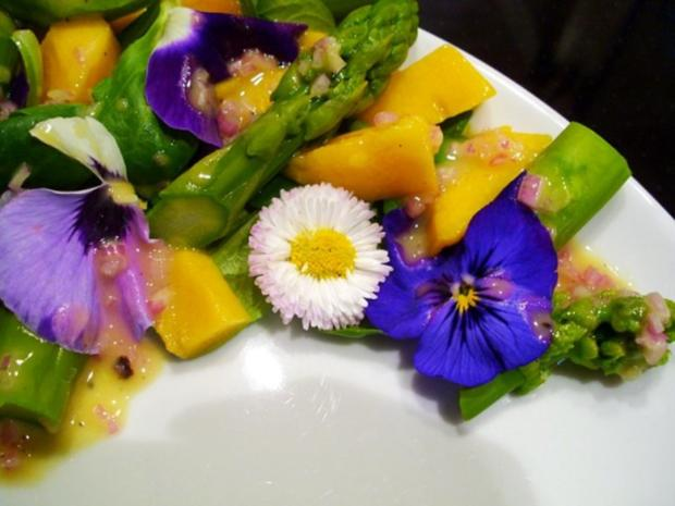 Salat: Frühlings-Blüten-Salat - Rezept - Bild Nr. 3