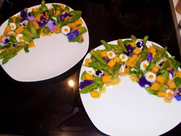 Salat: Frühlings-Blüten-Salat - Rezept - Bild Nr. 4