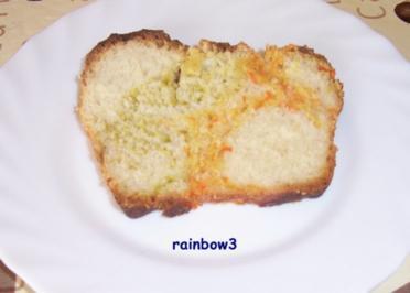 Backen: Buntes Milch-Brot - Rezept
