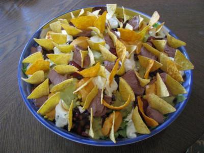 Salate: Taco-Salat - Rezept