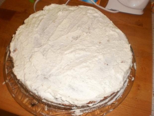 Mohn-Torte im Marzipanmantel - Rezept - Bild Nr. 10