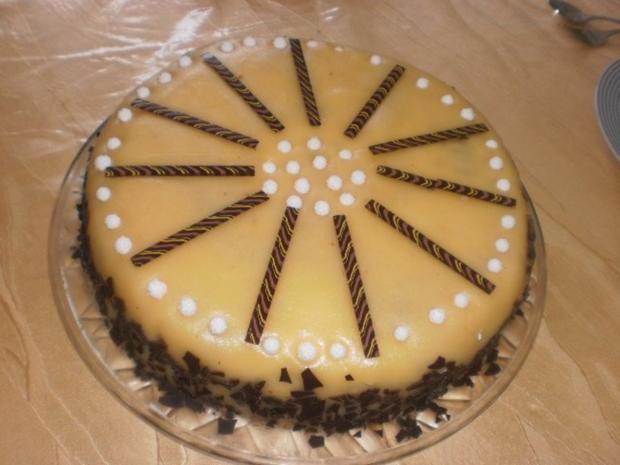 Mohn-Torte im Marzipanmantel - Rezept - Bild Nr. 14