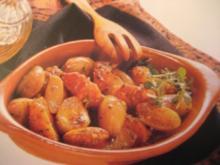 Schalotten mit Tomaten - Rezept