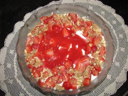 Dessert: Erdbeertiramisu - Rezept