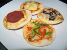 Pizzatapas 4Stk pro Person - Rezept
