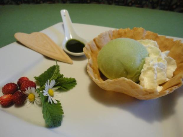 Zitronenmelissen Eis Ohne Eismaschine Rezept Kochbarde