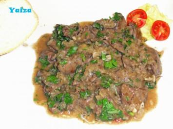 Rezept: Higado de pollo en salsa de Jerez