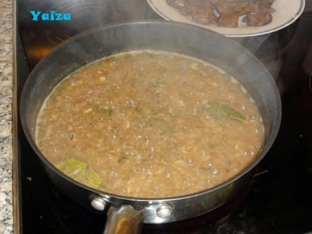 Higado de pollo en salsa de Jerez - Rezept - Bild Nr. 7