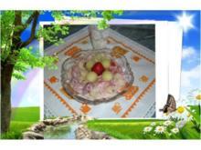 Dessert : Obst - Salat - Rezept