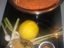 Linsen-Zitronensuppe mit Lammklößchen - Rezept