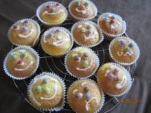Gesichter - Muffins - Rezept